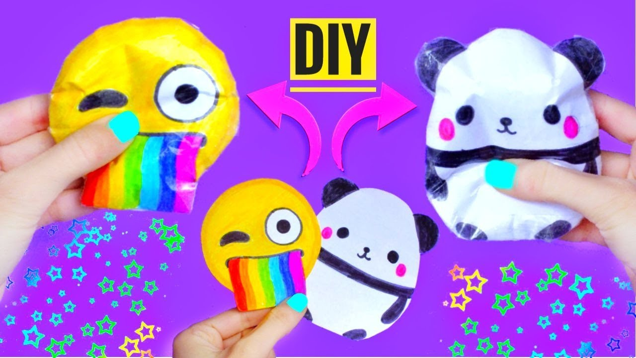 diy paper squishy