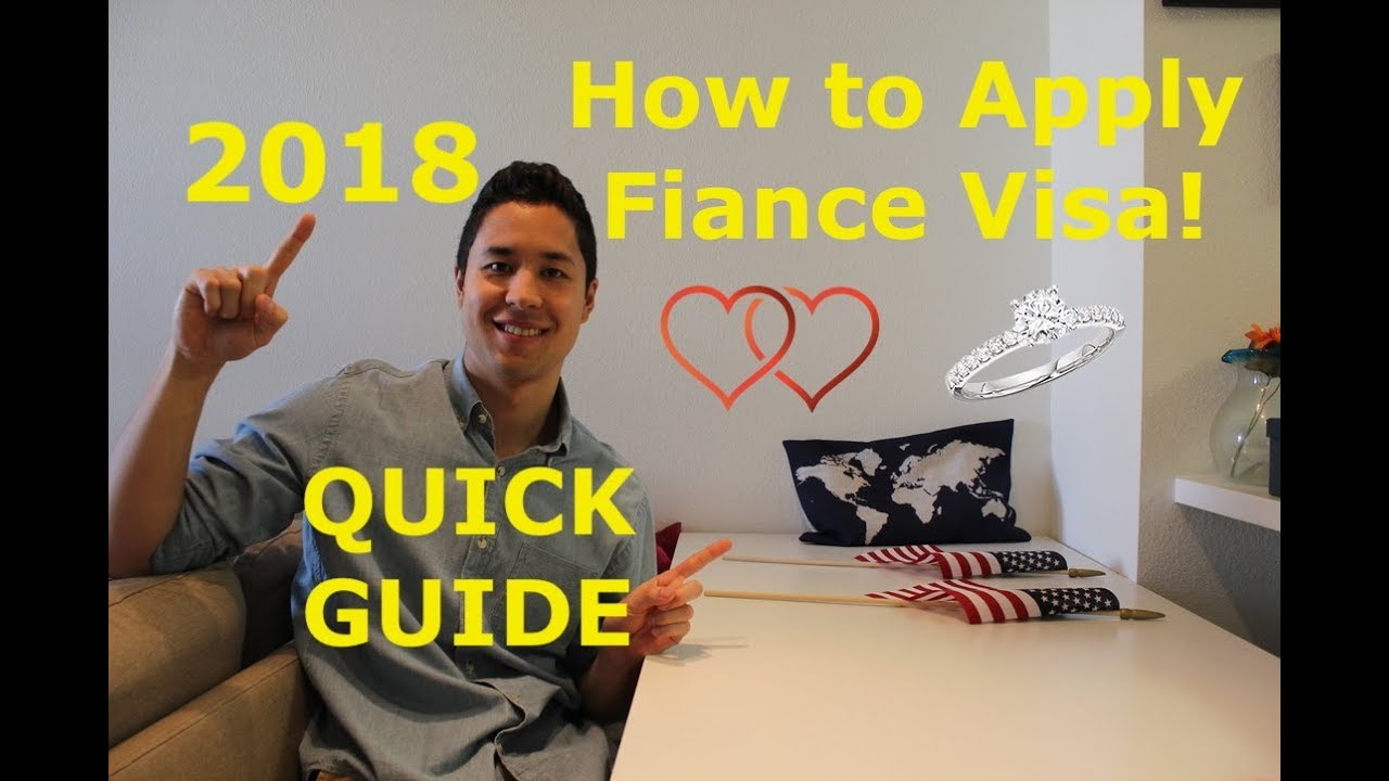 How To Apply Fiance Visa - EVERYTHING you need to know! Must watch 2018
