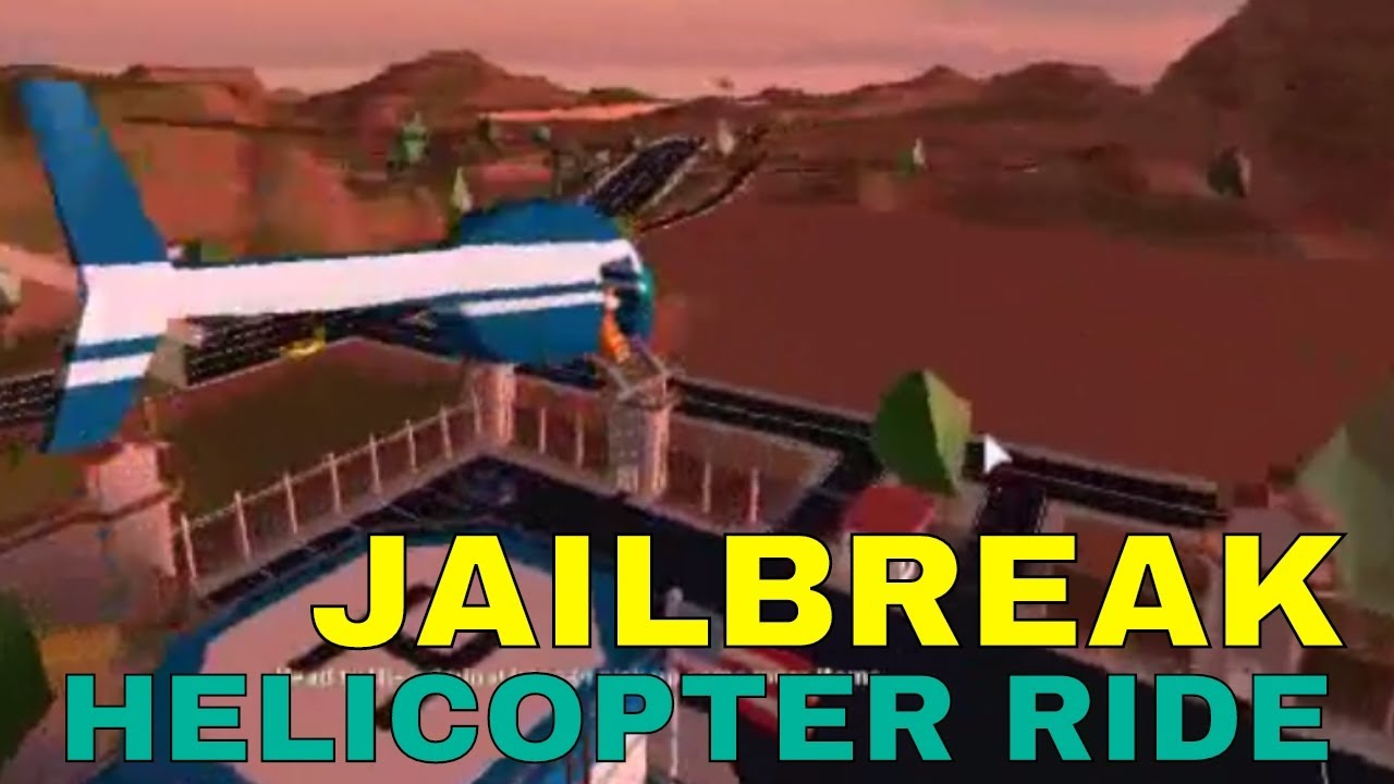roblox jailbreak how to get the red helicopter