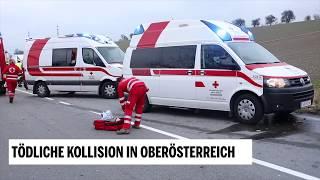 Tödliche Kollision in Oberösterreich