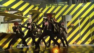 BEAST - Mystery, 비스트 - 미스테리, Music Core 20100109