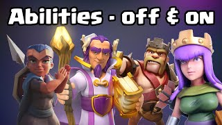"HOW TO TOGGLE ""AUTO HERO ABILITY"" OFF AND ON - DEC 2019 - Clash of Clans"
