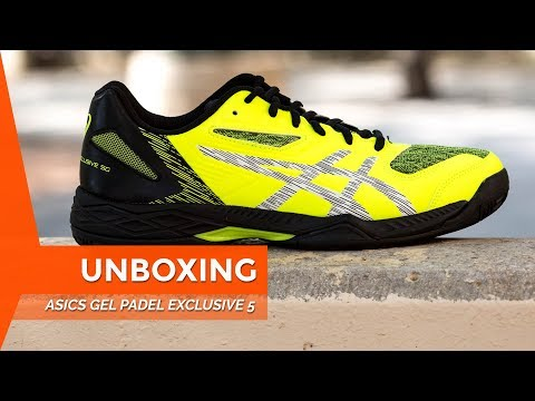 Zapatillas de Padel Asics Gel Padel Exclusive 5 2018