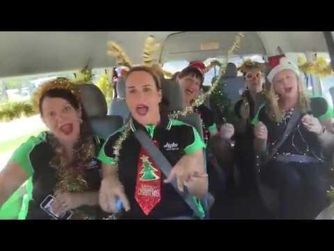 Dicky Beach Surf Club Carpool Karaoke Xmas Challenge