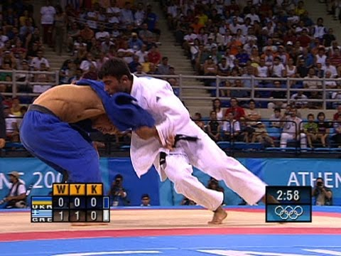 Ilias Iliadis Wins Greece's First Judo Gold - Athens 2004 Olympics