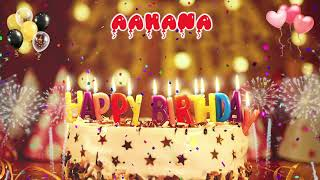 Aahana Birthday Song – Happy Birthday to You