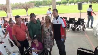 DONA SILLAS DE RUEDAS EN SAN JUAN BAUTISTA TUXTEPEC, OAXACA