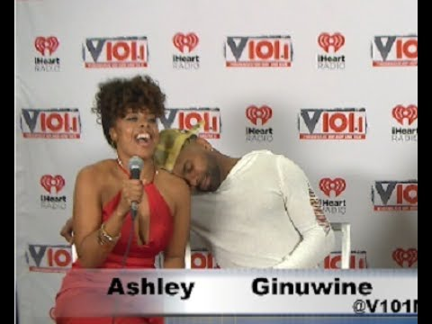 Ashley Caprice Was Nervous While Interviewing GINUWINE!
