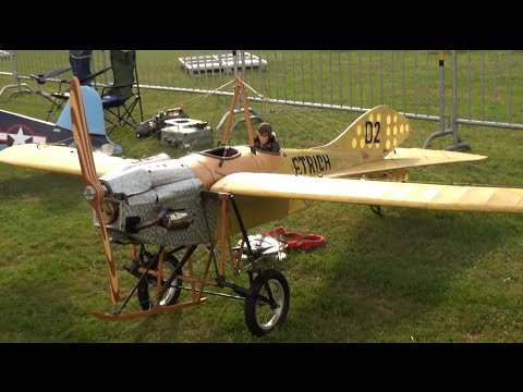 Huge R/C Oldtimer Etrich Taube/Dove D2 Airplane from 1910 in ...