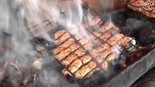 Download Video شواية كفتة اللحم البقري ♥ مأكولات الشارع من المغرب MP3 3GP MP4
