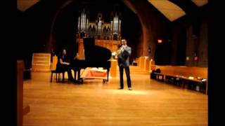 "Ola Gjeilo - Sidewalks and Madison from ""Stone Rose"" (on Horn and Piano)"