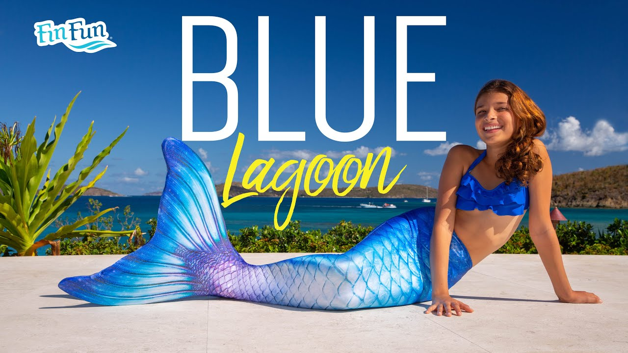 Blue Lagoon Limited Edition Mermaid Tail | Fin Fun Mermaid Tails - YouTube