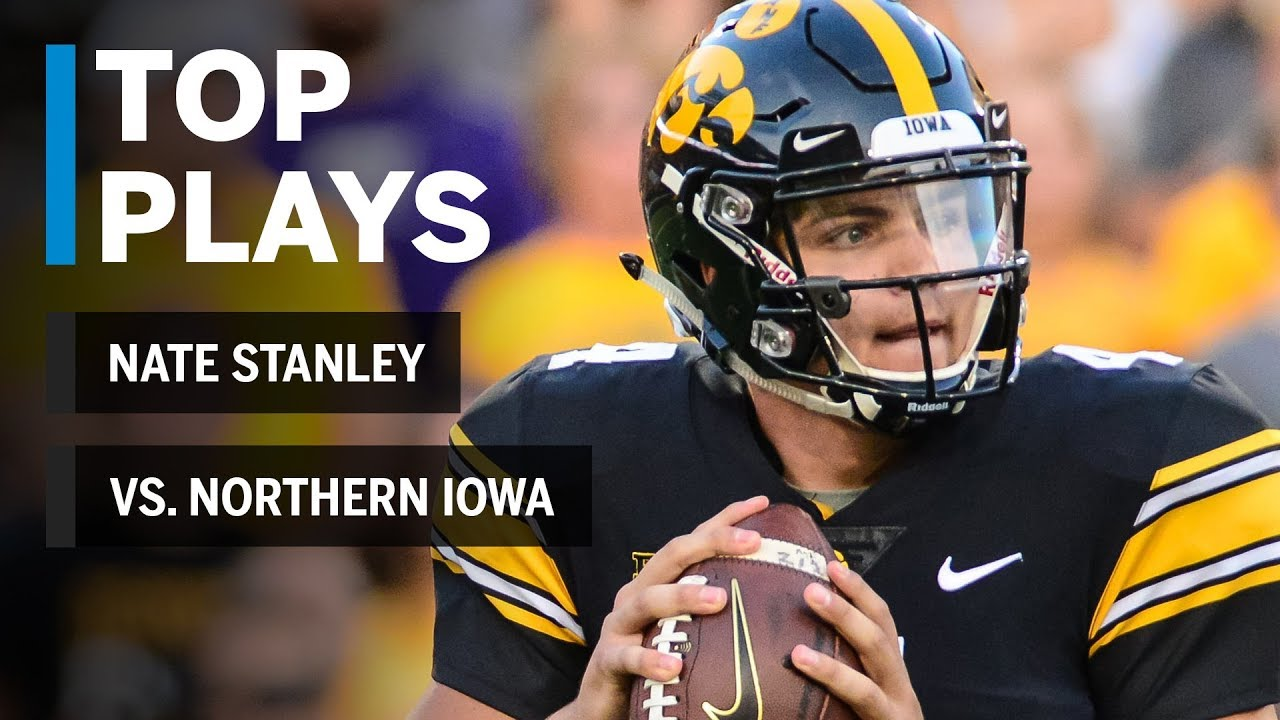 Top Plays: Nate Stanley Highlights vs. Northern Iowa ...