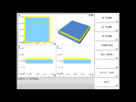 Hurco WinMax V9 Control Demo - CNC Machining & Programming