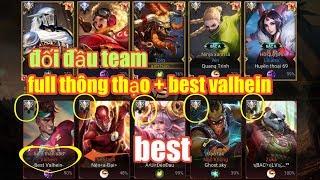 Liên Quân Mobile _ Trận Rank Cao Thủ Cực Căng Khi Gặp Team Bạn Full Thông Thạo S + Best Valhein