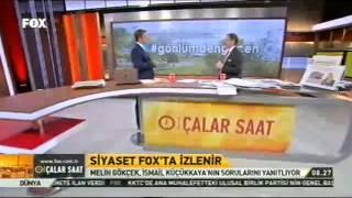 Melih Gökçek İsmail Küçükkaya ile Fox Tv FULL  5 Mayıs 2015