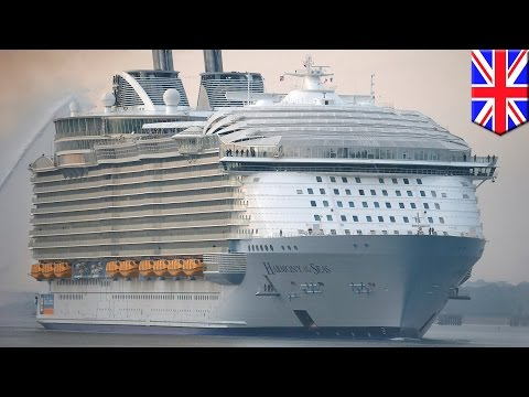 Harmony of the Seas: World's largest cruise ship prepares to set sail on maiden voyage