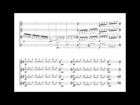 Constant Goddard - String quartet 1/I
