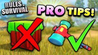 10 Things a PRO Does in Rules of Survival! (Tips and Tricks)