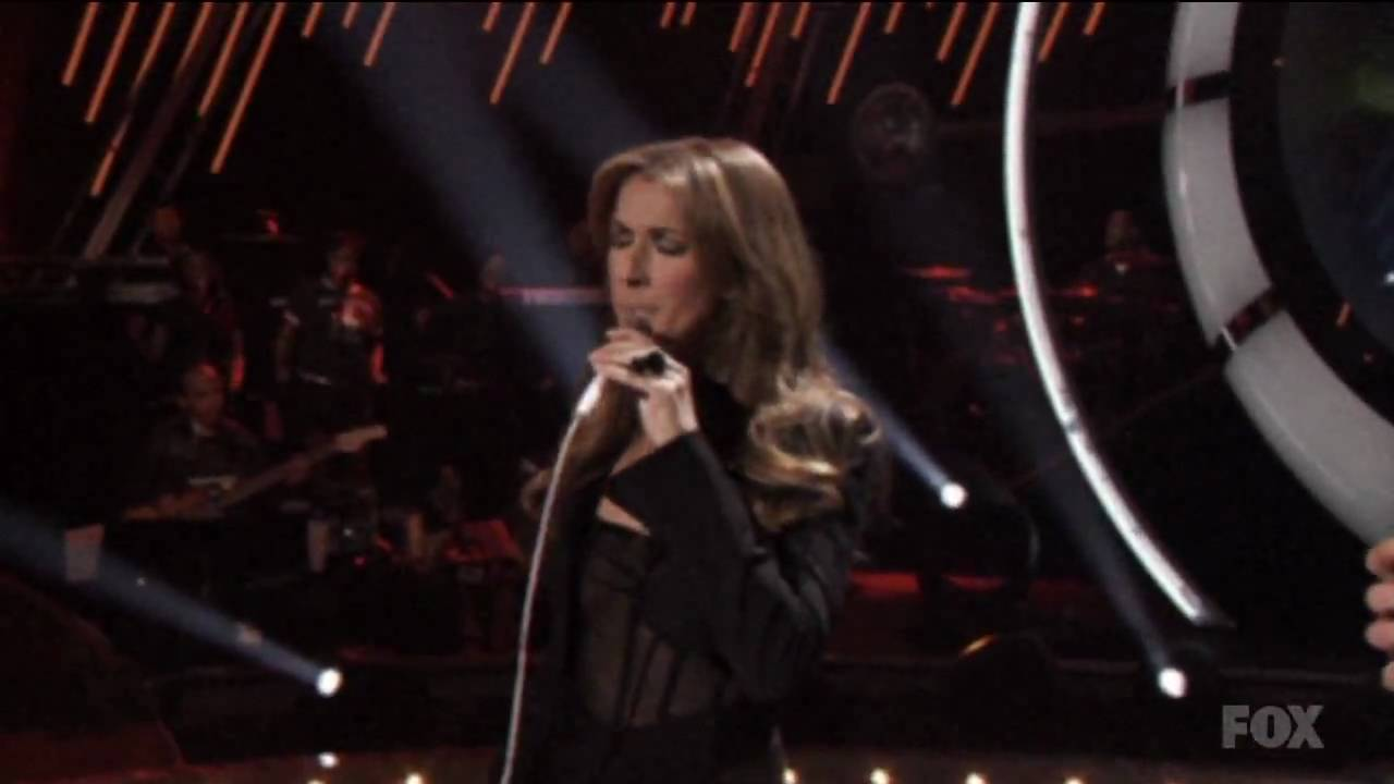 Elvis Presley  & Céline Dion - If I Can Dream (in HD!)