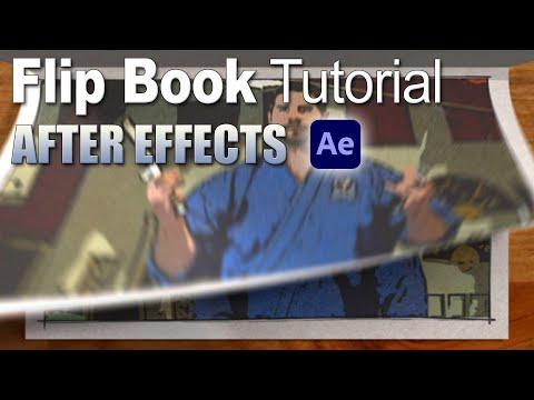 3D Flip Book Effect (After Effects Tutorial)