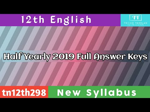 12th English Full Answer Key 2019 | Shri Krishna