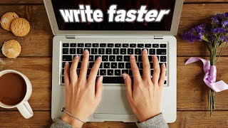 MUSIC TO WRITE FASTER & BETTER ✏️ | Click play, relax, and get those creative juices flowing