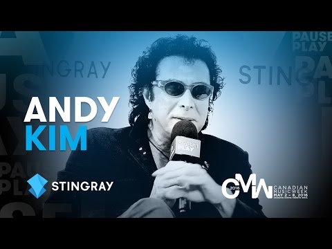 Andy Kim Interview EXTENDED – Canadian Music Week 2016 | Sti