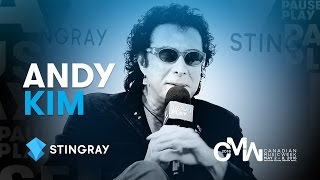 Andy Kim Interview EXTENDED – Canadian Music Week 2016 | Stingray PausePlay