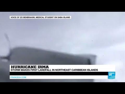 Hurricane Irma makes landfall in Northeast Caribbean Islands