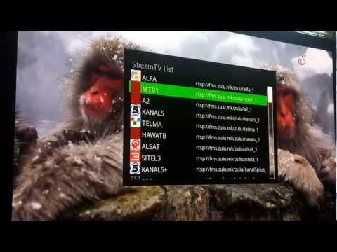Internet TV Stream IPTV Vu+ Solo 2 RTSP / RTMP Protocol