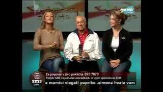 Frank and Jen on Slovenian Television