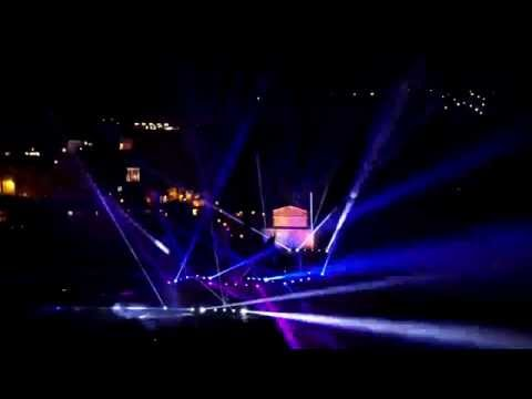 Veliko Tarnovo 3D Mapping Light Show Official /from AIR/