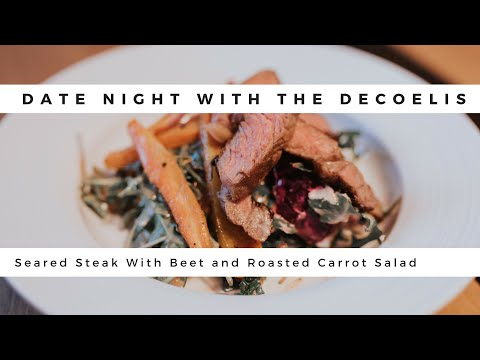 Date Night | Salad And Steak | TRUTH ABOUT WORKING TOGETHER