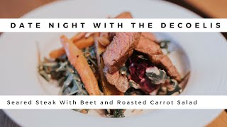 Date Night Episode 1   Salad And Steak   TRUTH ABOUT WORKING TOGETHER