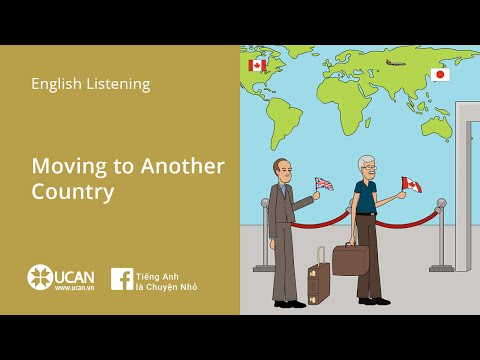 Learning English Listening - Lesson 38. Moving to Another Country