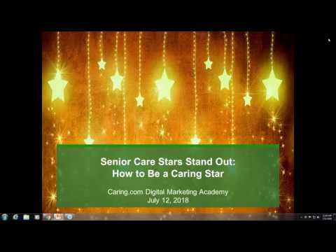 Senior Care Stars Stand Out: How to Be A Caring Star