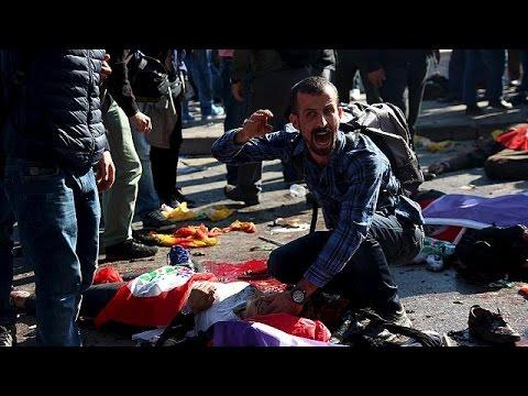 Турция. Десятки человек стали жертвами двух взрывов в Анкаре