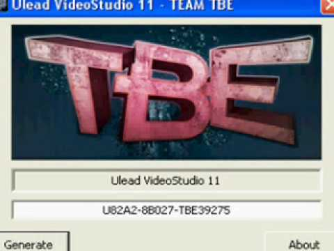 ulead videostudio 11 activation key