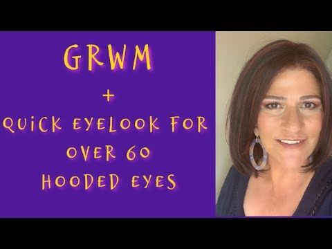 GRWM ~ Quick Eye Look for Over 60 Hooded Eyes ~ ABH Jackie Aina Eyeshadow Palette thumbnail