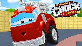 Мультики 3д про машинки - Чак и его друзья. Авария.
