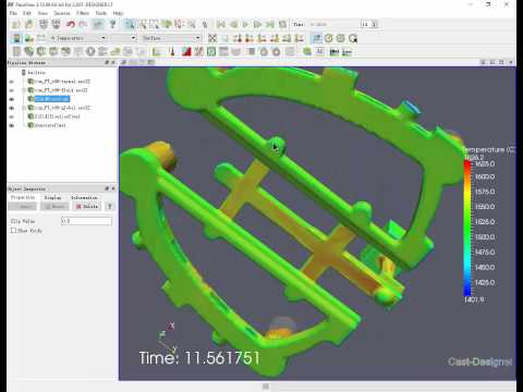 CAST-DESIGNER LT for Gravity (2), An Economic Simulation Solution for Casting Process