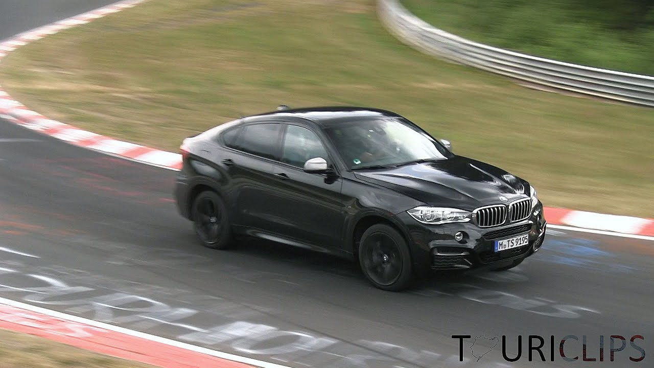 2015 Bmw X6 M50d F16 In Action On The N 252 Rburgring Nordschleife Youtube