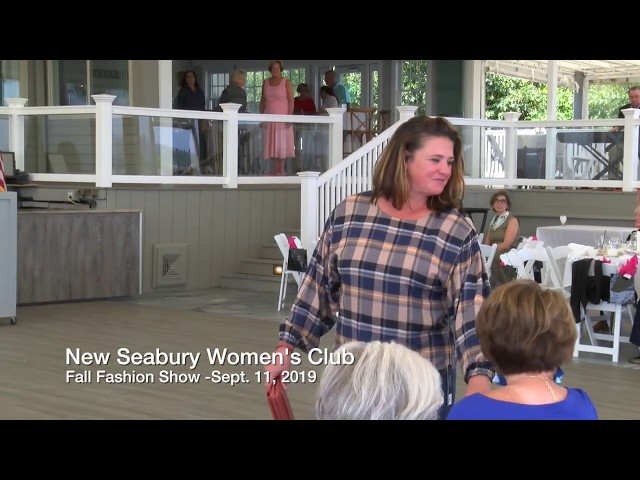 New Seabury Women's Club Fashion Show 2019