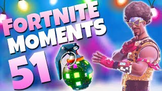 THE NEW BOOGIE BOMBS ARE AWESOME!! | Fortnite Daily Funny and WTF Moments Ep. 51