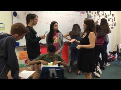 Cedar Valley Middle School 2018 Teacher of the Year: Leslie Blanton