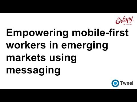 Empowering mobile-first workers in emerging-markets with messaging