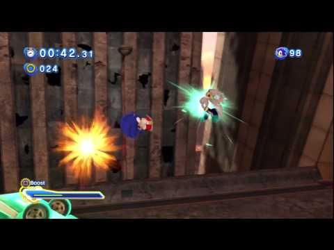 Sonic Generations - Sonic vs. Silver (Un-gravitify song)