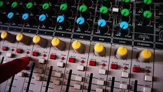 A Mesa de Som Signature Soundcraft 12 - review unboxing Português Brasil