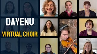 Dayenu - Virtual Choir - Temple Beth Avodah Choir